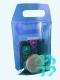 Сумка упаковочная ПВХ (185*270) с фиолет. спинкой
