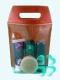 Сумка упаковочная ПВХ (185*270) с красной спинкой