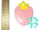 Блистер картонный фигурный ЗЕМЛЯНИКА 8,4*6,4см*10шт №4/4.19