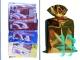 Упаковка для подарков ФЛГ (3 пакета 30*50+3 банта)