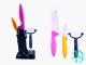 Набор керамических ножей + овощечистка №1