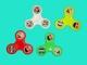 Игрушка СПИННЕР-антистресс пластиковая (подшипник металлический)
