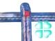 Спицы вязальные цветные акриловые 340/5 мм