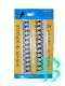 Крючки потайные металлические черные-24 шт №189