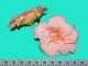 Бутон поделочный светло-оранжевый (7 см) №111