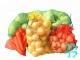 Сетка овощная 50*80 см на завязках (красная) РОС66-2