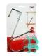Крючок (металл) двойной подвесной на дверь№876