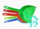 Совок пластиковый (длинная ручка) зелёный Россия