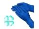Перчатки латексные М суперпрочные №7027-50шт