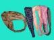 Повязка-чалма на голову (цветной микс)