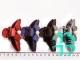 Заколка пластик КРАБ-2 см(разноцветный)100шт №108