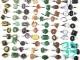 Кольца - перстни  размерные (натуральные камни) №3
