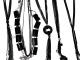 Колье с сережками (металл*стразы)-2 цвета №6549