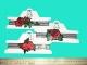 Чокер кружевной с розой (текстиль) №674