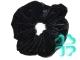 Резинка д/волос черная с украшением (80 шт) №11