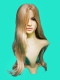 Парик 3154/613 Люкс блонд+светлый*2 цв (длинный)