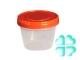 Банка с винтовой крышкой 0,3 л/мерная (пластик) РФ
