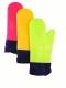 Варежка прихватка из силикона (длинная) 0080